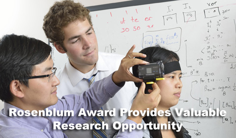 Rosenblum Award Provides Valuable Research Opportunity