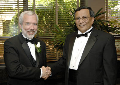 James Von Ehr and Engineering Dean Satish Udpa